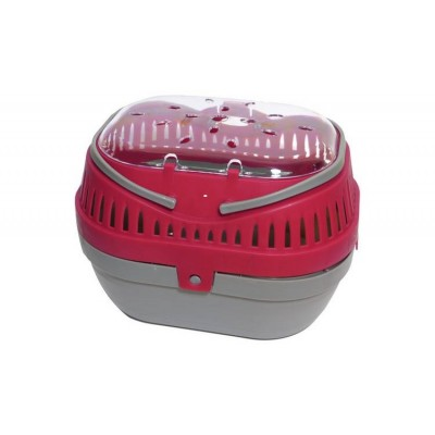 Pet Carrier  Pod - Red/Grey
