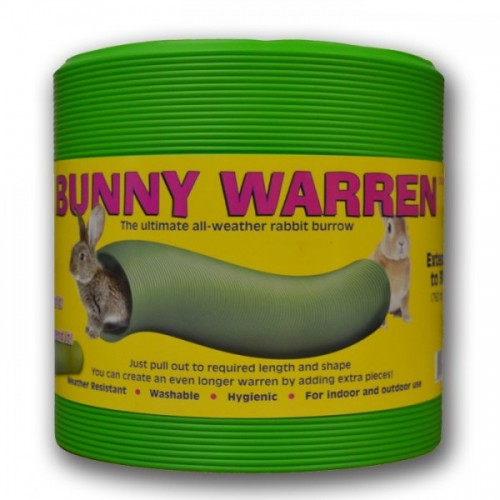Bunny Warren - flexible tube