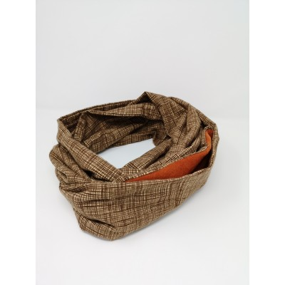 Bonding Pouch Infinity Scarf - various prints
