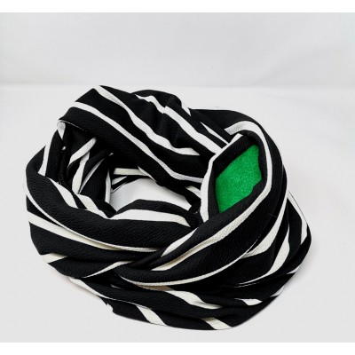 Bonding Pouch Infinity Scarf - crepe