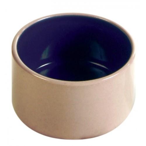 Ceramic Dish - Cream and Blue