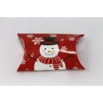 Christmas Treat Pocket - Red Snowman