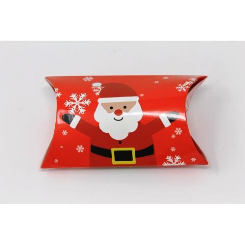 Christmas Treat Pocket - Red Santa