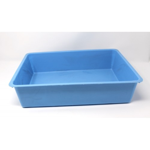Cat Litter Tray - blue