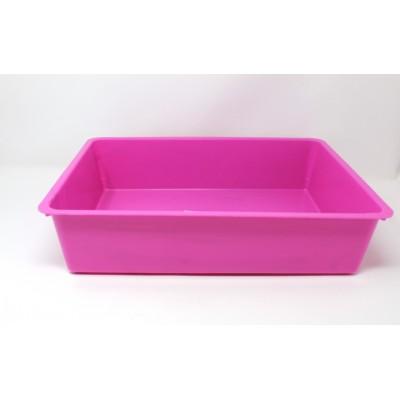 Cat Litter Tray - pink