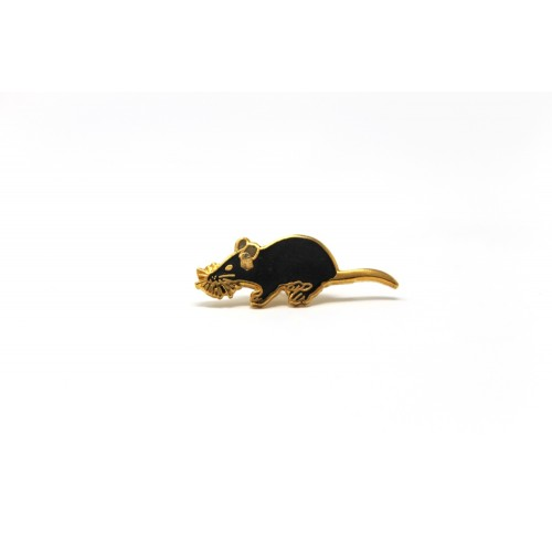 Enamel Rat Pin