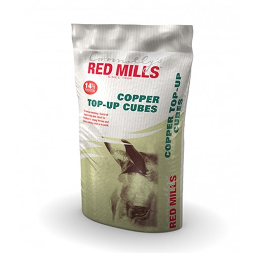 Copper Top-Up Cubes - Red Mills
