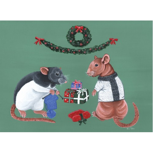 Christmas Card - Knitted Jumper