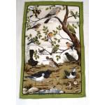Irish Linen Tea Towel - British Birds