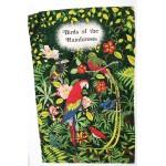 Irish Linen Tea Towel - Rain Forest