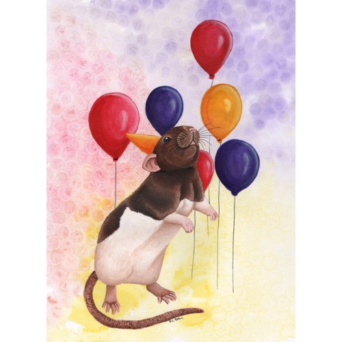 Rat Themed Cards