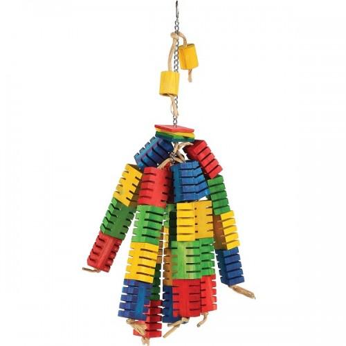 Grooved Hanging Blocks