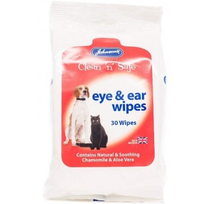 Clean and Safe Ear and Eye Wipes - packet