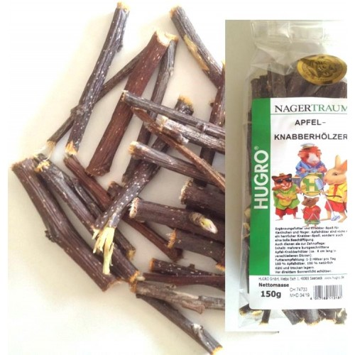 Apple Wood Chew Sticks