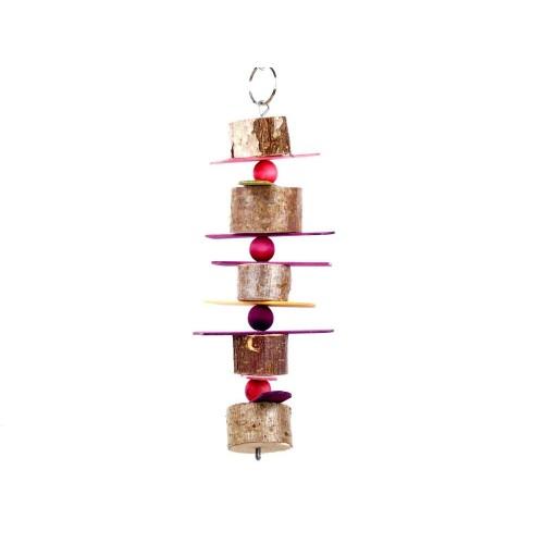Hazel, Lolly Sticks and Beads