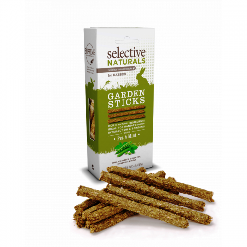 Selective Naturals Garden Sticks - Pea and Mint