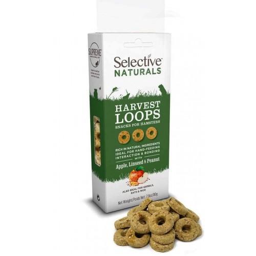 Harvest Loops - Apple, Linseed and Peanut