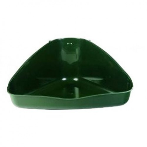 Corner Shaped Toilet - Green