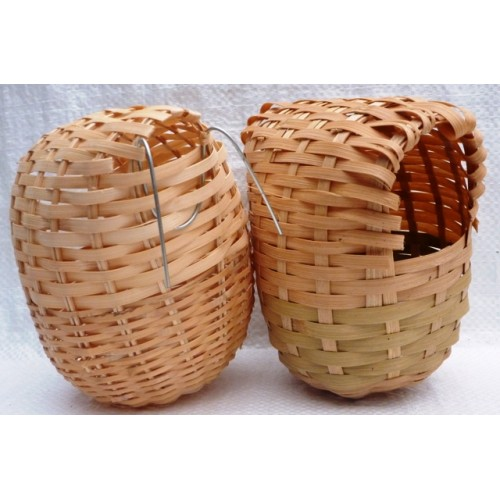 Woven Bamboo Nest Pocket